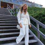 White lace PJ