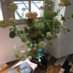 Céline Showroom flowers
