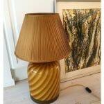 Murano caramel lamp